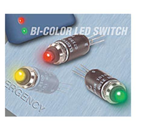 bi color led resistor sw43745 bi color led switch electromechcomp