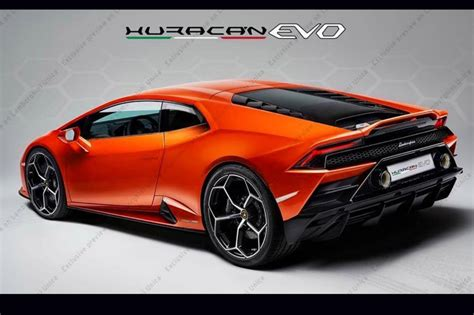 2020 Lamborghini Huracan by 2020 Lamborghini Huracan Evo Shows Redesigned Rear
