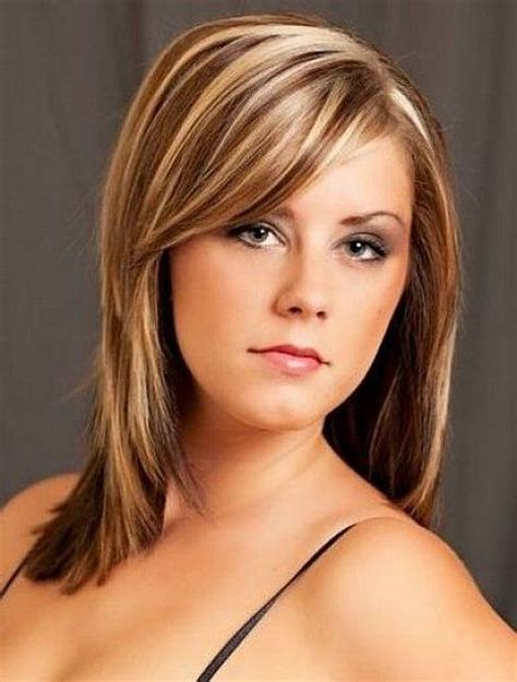 hairstyles for blonde and brown hair light brown hair with blonde highlights medium length