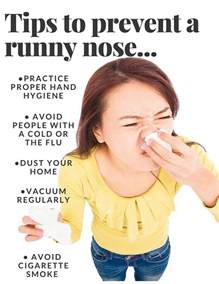 what causes a runny nose