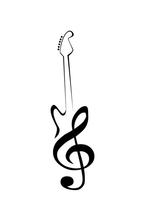 small guitar tattoo designs best 25 guitar ideas on guitar drawing