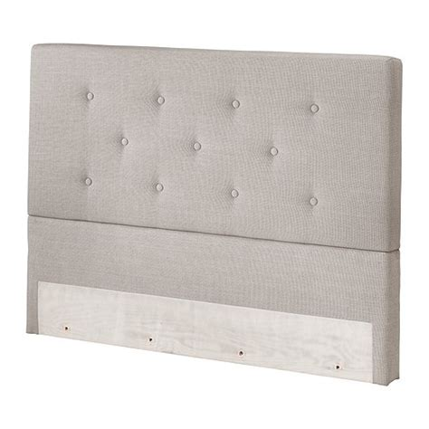 Upholstered Tufted Bekkestua Headboard From Ikea