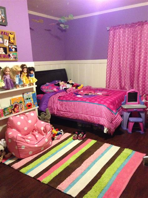 minnie mouse room home   kids bedroom girls