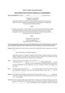 certificate of occupancy template best photos of occupancy agreement template form