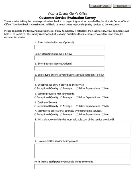 14 Customer Service Evaluation Forms Free Pdf Format Download Customer Service Employee Evaluation Template
