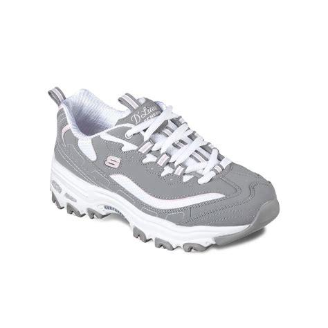 Skechers D Lite by Skechers D Lites Fan S Athletic Shoes Size