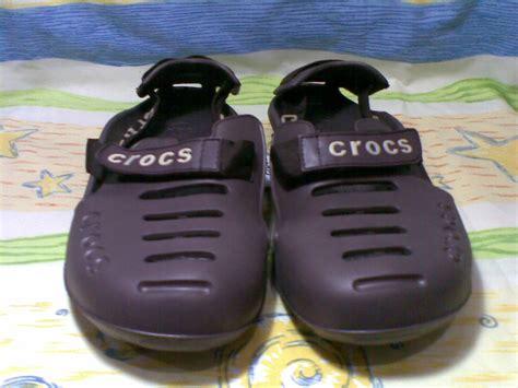 Sandal Dan Sepatu Crocs jual sepatu sandal crocs model reebok grey master