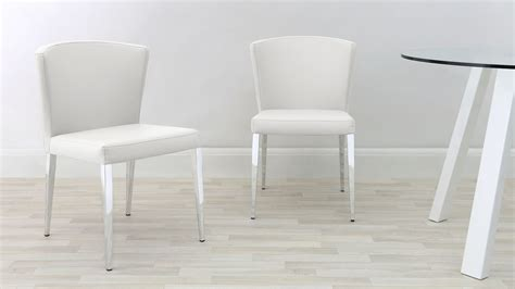 dining chair chrome legs curved dining chair chrome tapered legs faux leather