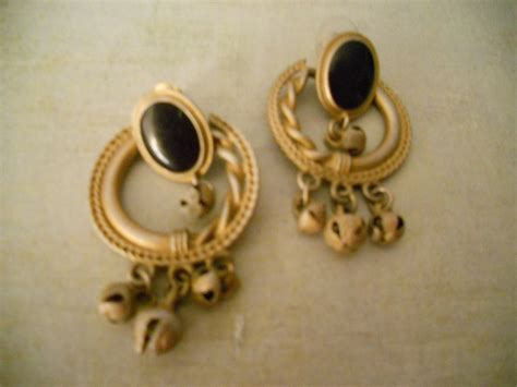 antiqued gold door knocker earrings neoclassical circle with