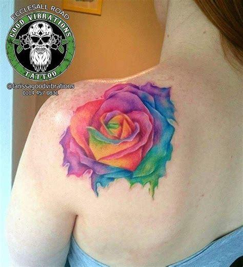 rainbow rose tattoo 355 best images about tatttoooooos on