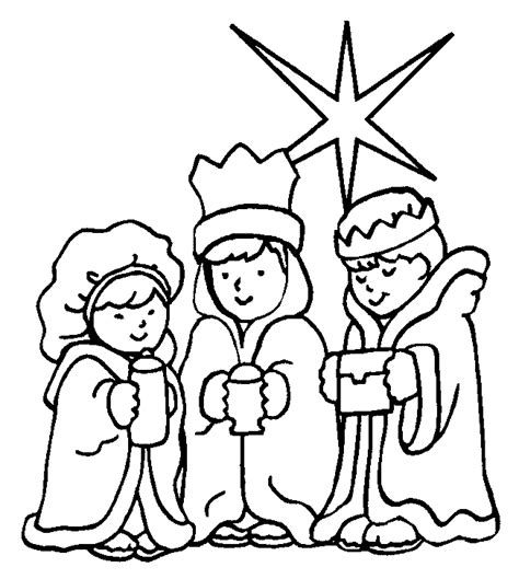 three kings coloring pages picgifs com