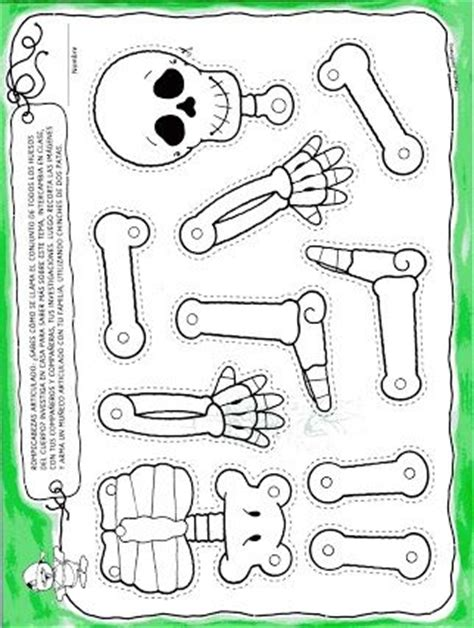 skeletons activities and halloween on pinterest