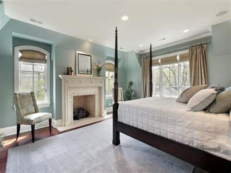 Soothing Paint Colors For Bedroom | bloombety relaxing bedroom colors with fireplace design