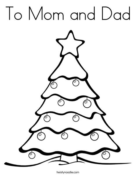 christmas coloring pages for your mom and dad to mom and dad coloring page twisty noodle