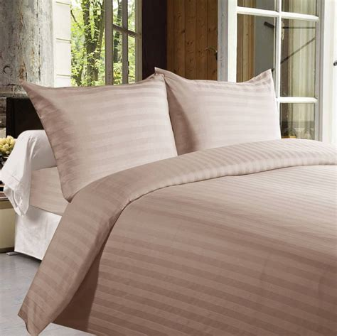 bed sheets thread count buy bed sheets with stripes 350 thread count light brown