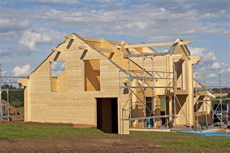 construction d une maison la construction d une maison en bois