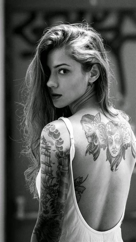 tattoo girl wallpaper iphone 6 plus girls wallpaper beautiful girl tattooed back iphone 6