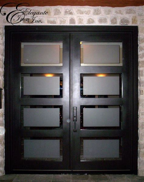 contemporary double door exterior 43 best images about elegante iron contemporary designs on