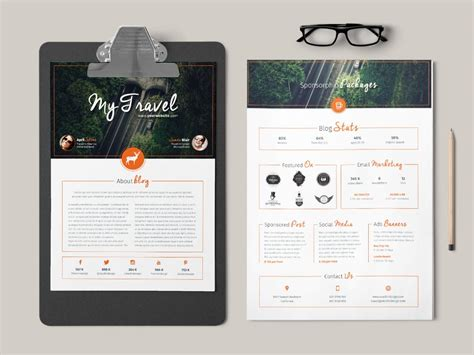 home design media kit blog media kit template stockindesign