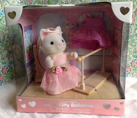 Sylvanian Families Ballerina Friends teddy bears friends sylvanian families us calico critters ballerina limited