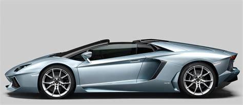 2014 Lamborghini Aventador LP700 4 Roadster Silver   Top