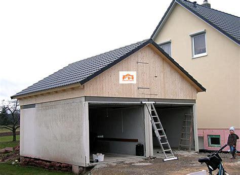 garage aus holz holzbau funk carports und garagen
