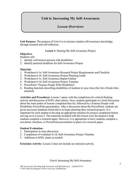 Self Awareness Worksheets by Uncategorized Self Awareness Worksheets Klimttreeoflife