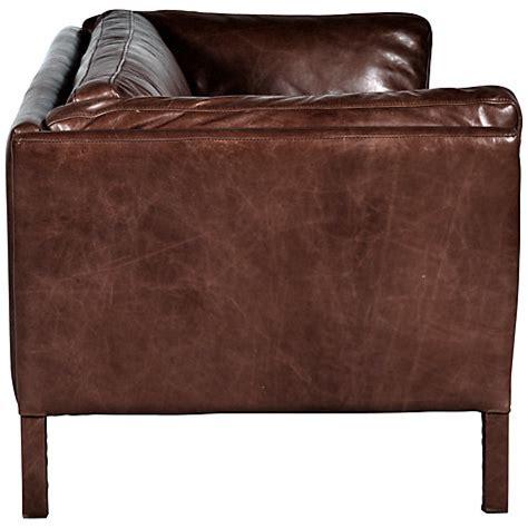 groucho leather sofa buy halo groucho large leather sofa lewis