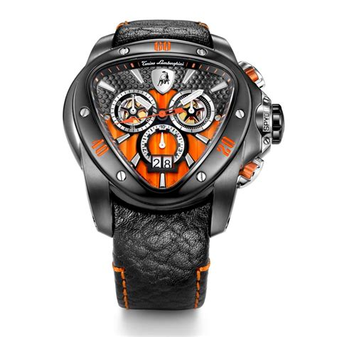 Tonino Lamborghini Watches Prices Tonino Lamborghini Spyder 1118 Chronographic Black