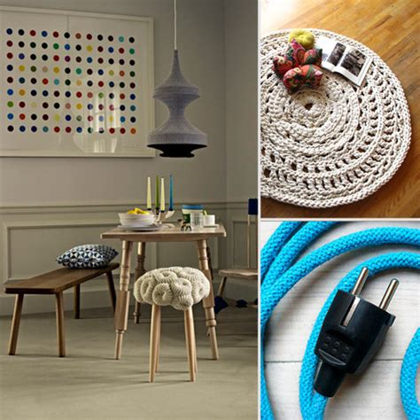 modern crochet home decor pictures popsugar home