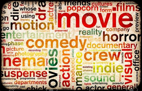film genres 5670167 movie poster of film genres vintage background