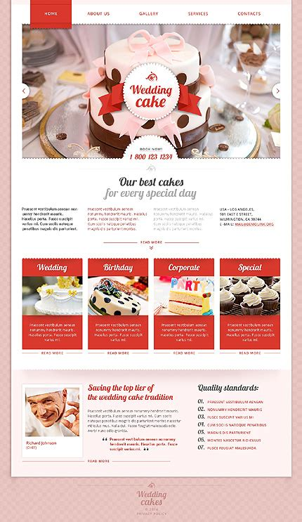 Wedding Type Website Templates Template 48177 Espresso Templates Marriage Website Templates Free