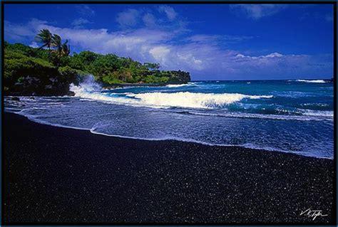 black beaches amazing black sand beaches world s strange places