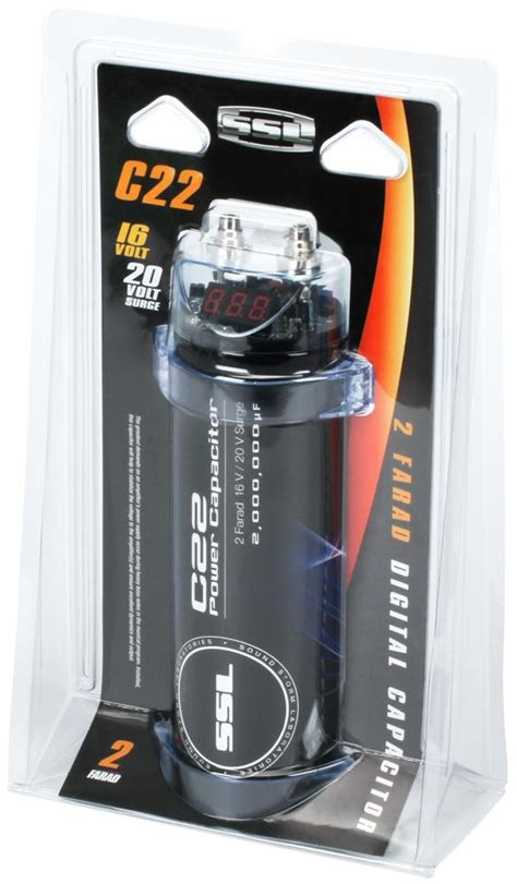 energy reserve capacitor ssl c22 2 farad capacitor car electronics
