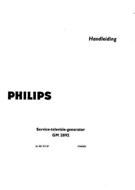 Philips Pm 5320 0 15 50 88 108mhz Rf If Am Fm Signal