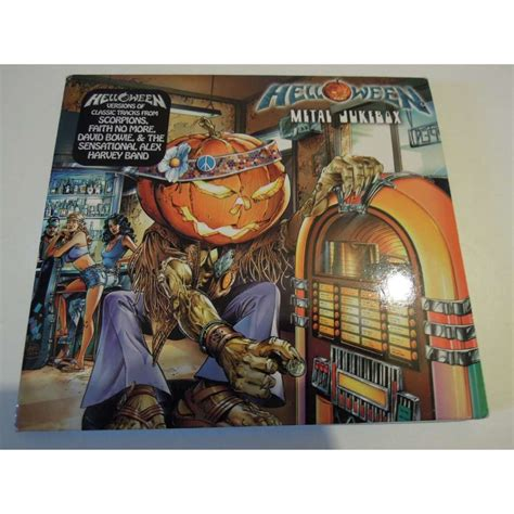metal jukebox by helloween cd with pitouille ref 117598375