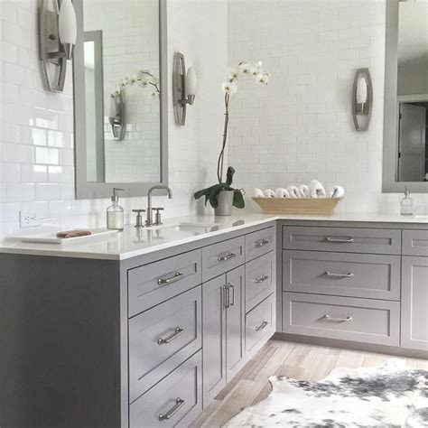 bm galveston gray cabinets master ensuite pinterest