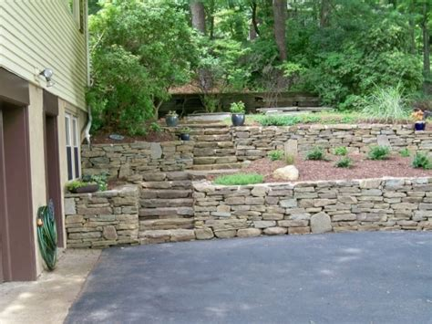 Ideas For Retaining Wall Landscaping Bistrodre Porch And Garden Retaining Wall Options