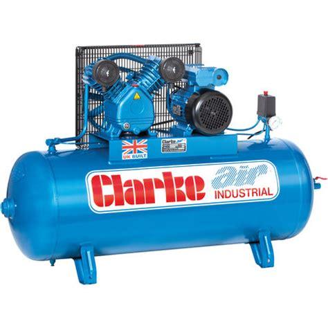 clarke xev16 200 o l industrial air compressor 230v machine mart machine mart