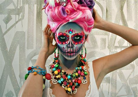 Mascara Harajuku sugar skull makeup retna glitter sugar skull sugarskull makeup harajuku the suite world