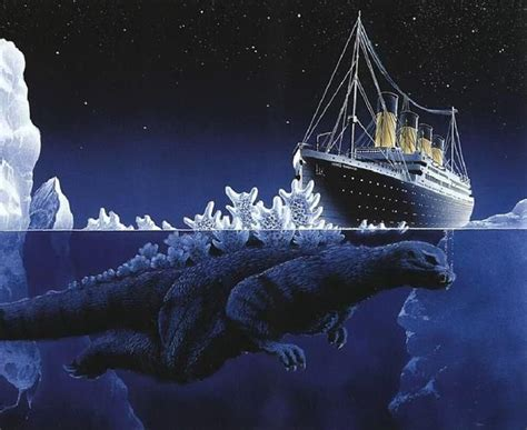 Titanic 2012 Curse Of Rms Titanic godzilla and the titanic by jean normand