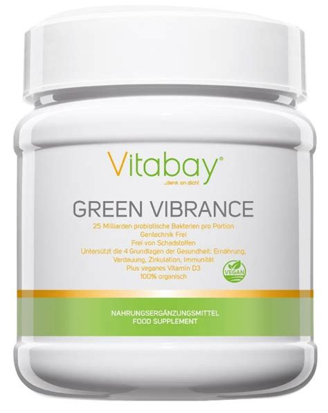 Green Vibrance Detox Test by Vitabay Green Vibrance Green Vegan Smoothie Standmixer