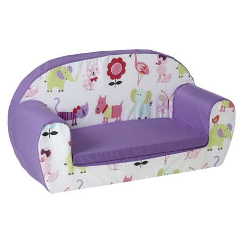 kids settee kids children s soft foam toddlers sofa 2 seater seat