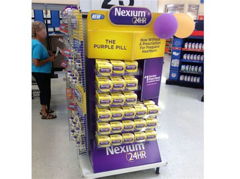Nexium Shelf by Pfizer Brings Heartburn Relief The Counter With New
