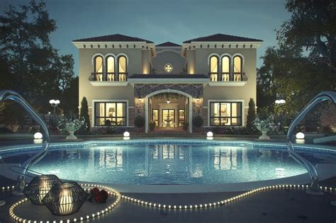Kitchen Design Dubai by Luxury Tuscan Villa Dubai 6 Luxatic