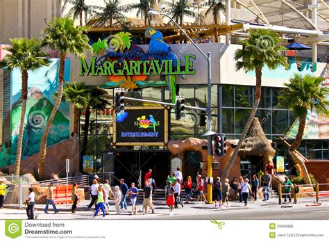 Margaritaville Las Vegas Nv Editorial Photo Image Jimmy Buffet Vegas