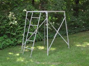 Build A Ground Blind Comfortquest 4x4 Elevated Platform Stand