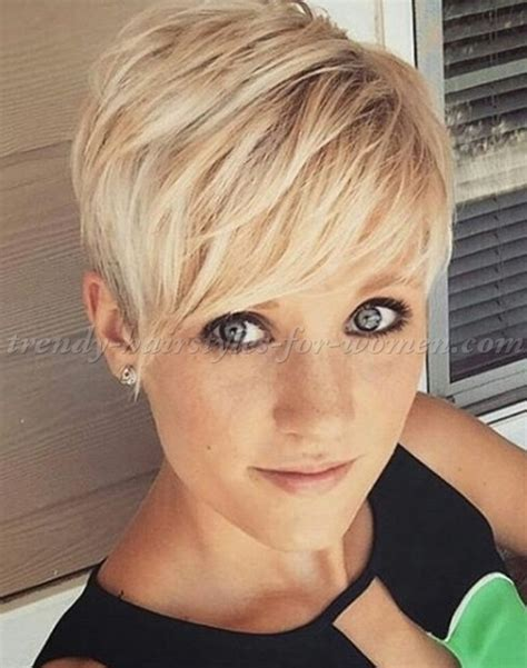 pixie haircut short blonde hairstyle trendy hairstyles