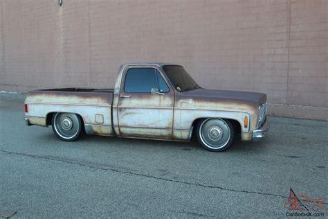 1979 c10 patina bagged shop truck