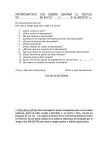 preguntas generales sobre el divorcio escrito de interrogatorio de testigos 405
